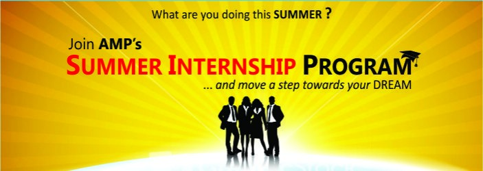 amp summer internship program